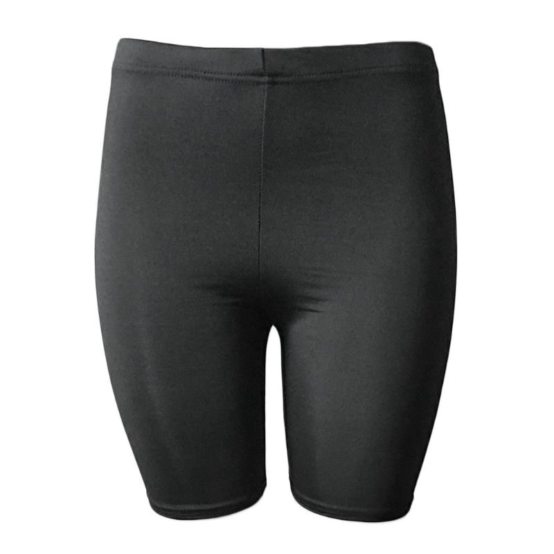 Women's Sport Fitness Leggings, Above Knee, High Waist, Workout Or Bike Shorts 17