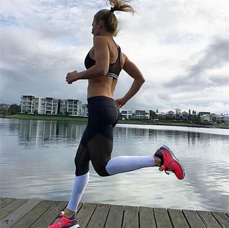 Casual Leggings Women Fitness Leggings Color Block Workout Pants New Arrival Mesh Insert Leggings 1