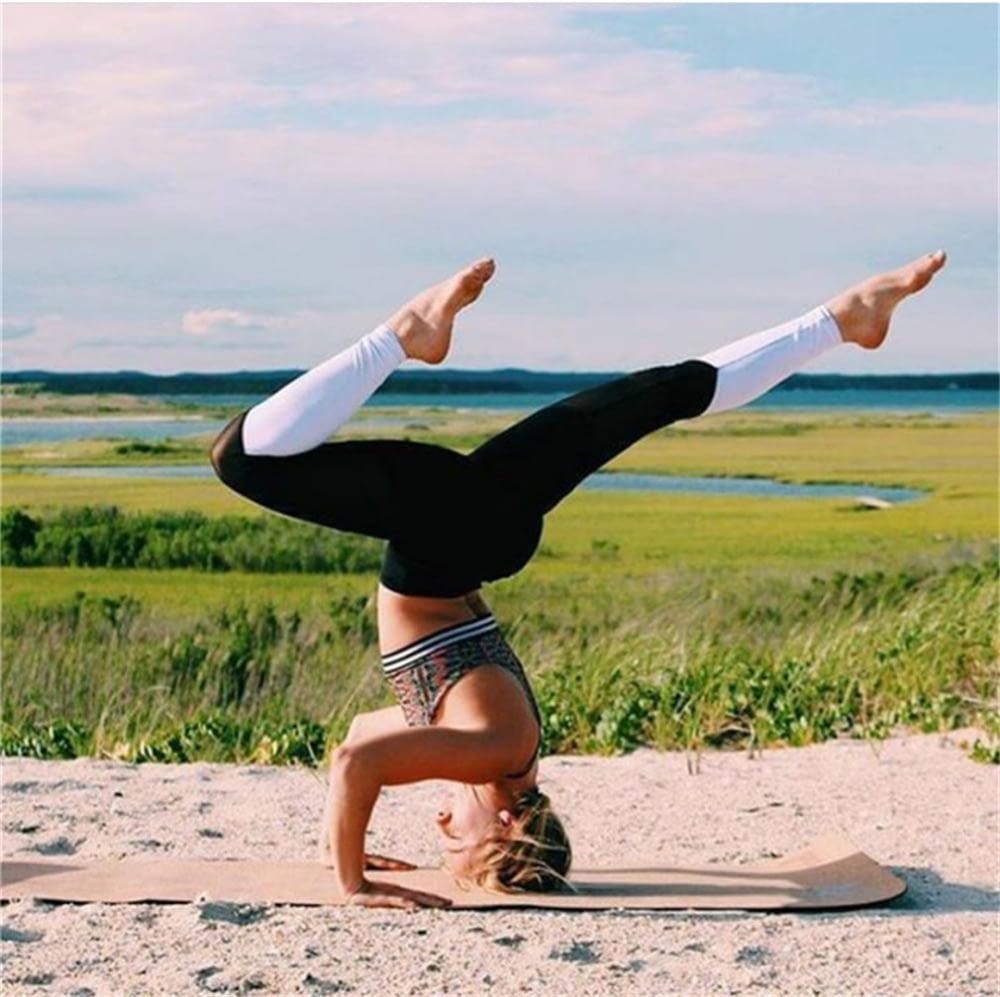 Casual Leggings Women Fitness Leggings Color Block Workout Pants New Arrival Mesh Insert Leggings 14
