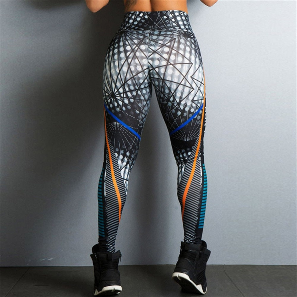 Streetwear Style, Sexy Leggings, Women's Fitness Leggings, High Waist, Elastic Push Up Workout Pants 11