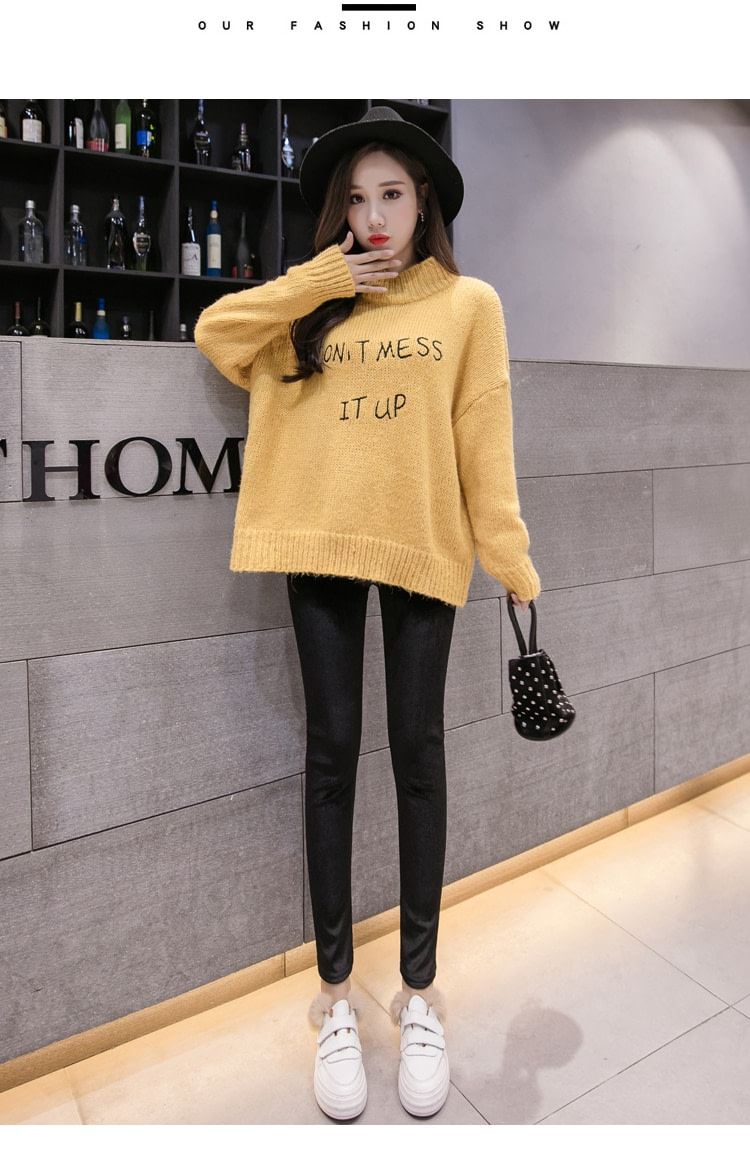 New Velour Thin Women's Leggings, Solid Color, High Waist Fashion Leggings 15