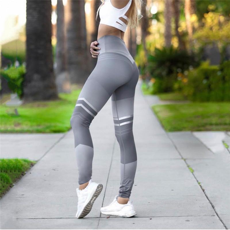 Women's Fitness Clothing, Mesh High Waist Leggings, Female Breathable Patchwork Sportswear 14
