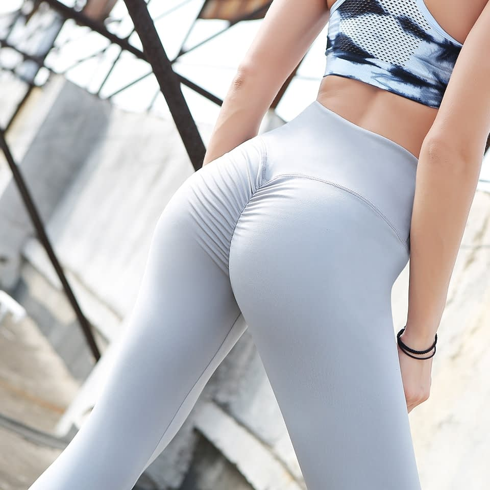 Leggings Women's Polyester Camouflage Push Up Leggings, Fitness Pants, Workout Activewear Clothing 17