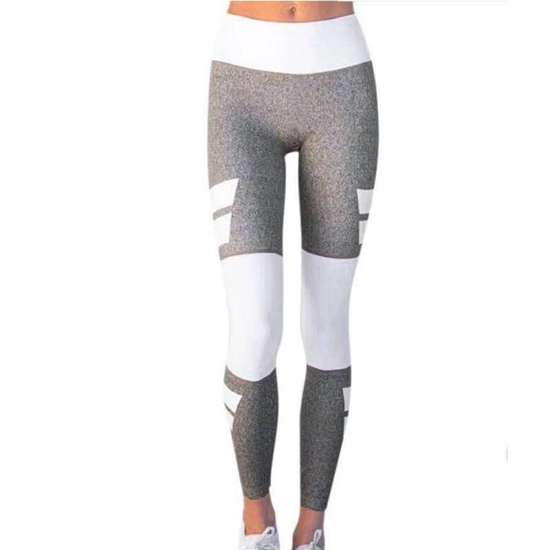 Women's Fitness Clothing, Mesh High Waist Leggings, Female Breathable Patchwork Sportswear 17
