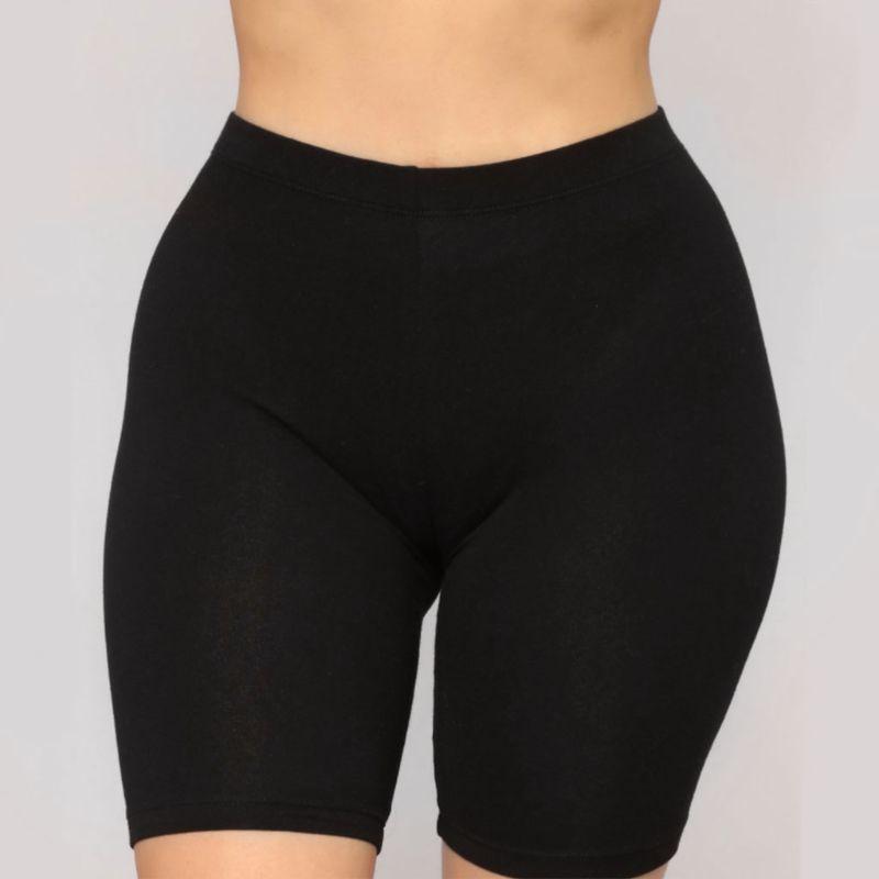 Women's Sport Fitness Leggings, Above Knee, High Waist, Workout Or Bike Shorts 13