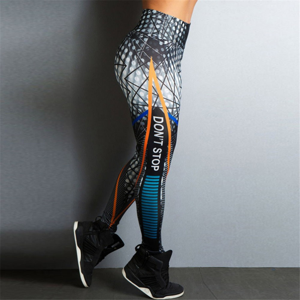 Streetwear Style, Sexy Leggings, Women's Fitness Leggings, High Waist, Elastic Push Up Workout Pants 13