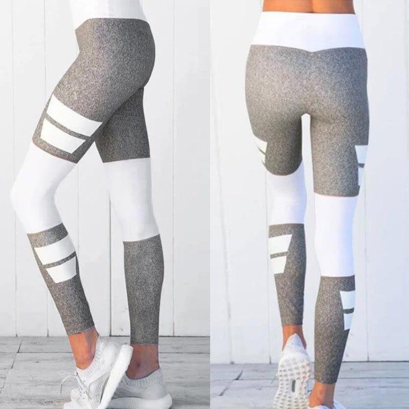 Women's Fitness Clothing, Mesh High Waist Leggings, Female Breathable Patchwork Sportswear 16