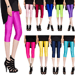 Sexy Solid Candy Neon Women Summer Leggings
