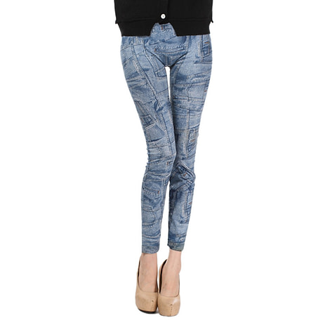 Comfortable Skinny Pants Denim Legins Women Fashion Sexy Women Jean Skinny Leggings Stretchy Slim Leggings 4