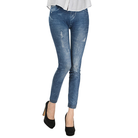 Comfortable Skinny Pants Denim Legins Women Fashion Sexy Women Jean Skinny Leggings Stretchy Slim Leggings 2