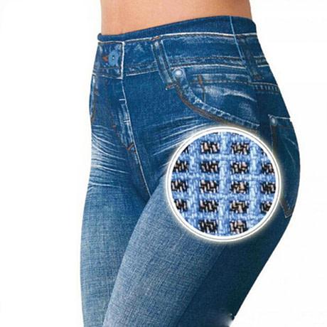 Leggings Jeans, Women's Denim Pants, Pocket Leggings 3