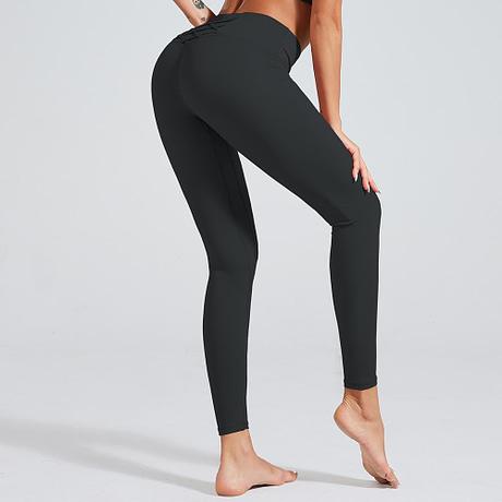 2019-New-Design-Leggings-Solid-Color-Better-Match-Elastic-High-Waist-Cross-Decoration-Leggings-2.jpg