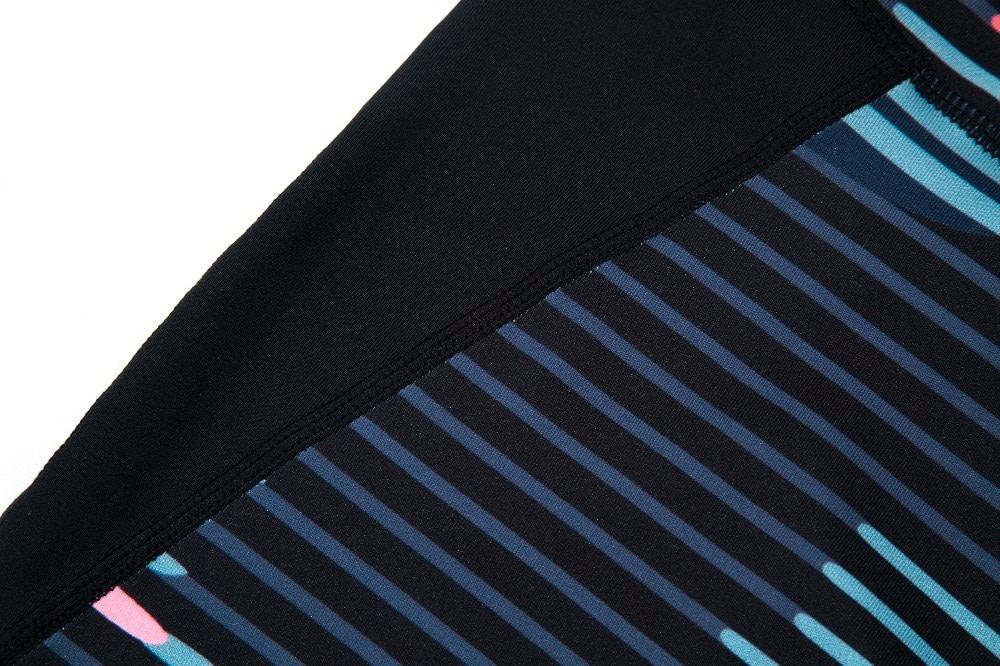 New Sport Suit Print Fitness Suit Leggings Breathable Yoga Set 2 Piece Zipper Sportswear T-shirt Sport Pants Tracksuit For Women 24